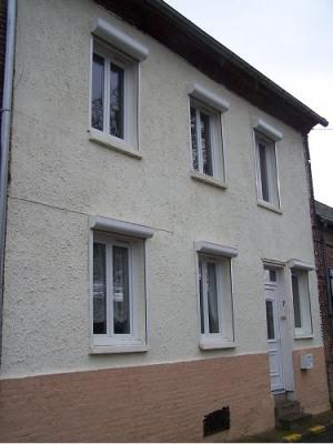 Secteur hallencourt maison à finir de rénover avec terrasse et
