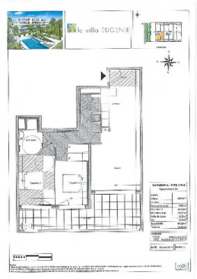 3 rooms, 67,18 m² - Marseille 12ème (13012)