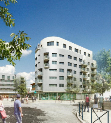 New home sale - Programme - Sarcelles - Perspective du programme - Photo