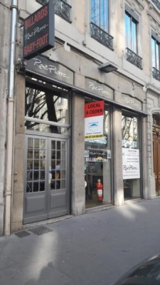 Vente Local commercial Lyon 6ème