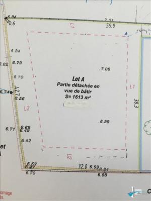 Terrain à bâtir ambares et lagrave - 1613 m²