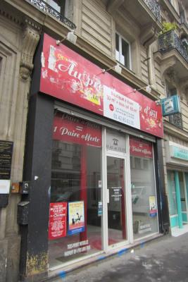 Boutique 31 m² + sous-sol 63 m²