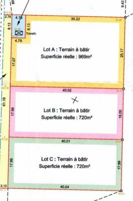 Sale site Blois 60500€ - Picture 1