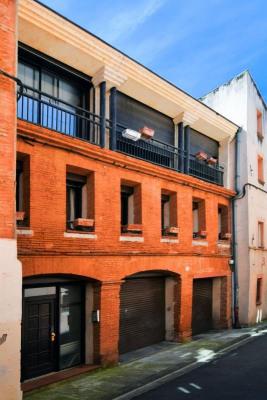 Belle maison de ville avec cour privée