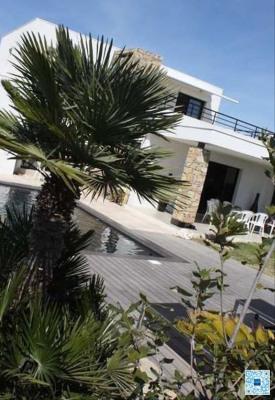 Villa bord de plage
