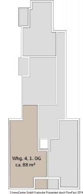 Rental - Apartment 3 rooms - Karlsruhe - Photo