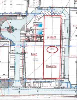 Cellule auxerre - 720 m²