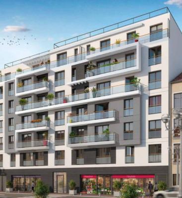 Appartement Montrouge 2 pièce (s) 44,10 m²