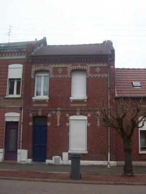 Location - Maison de ville 5 pièces - 82,75 m2 - Cambrai - Photo
