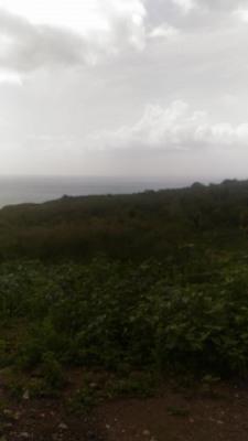 Terrain à Baillif vue plendide sur la mer des Caraibes