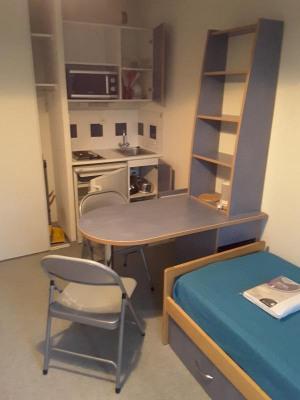 Studio vendu loué + parking sous-sol à Villeurbanne Doua