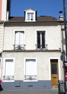 Vente - Triplex 6 pièces - 143 m2 - Asnières sur Seine - Façade rue - Photo