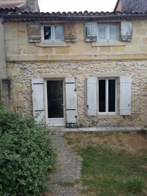 Maison Mitoyenne de type 3 avec 1 jardinet en façade et 1 jardin