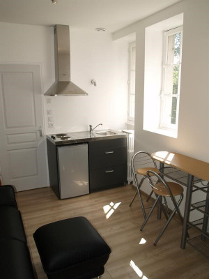 Rental - Apartment 2 rooms - 30 m2 - Limonest - Coin cuisine - Photo