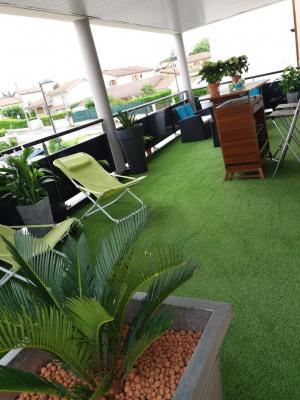 Appartement T3 64m² + terrasse 55m²