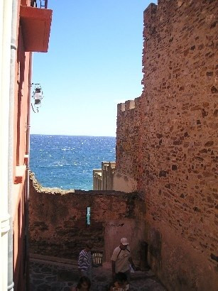 Vacation rental apartment Collioure 193€ - Picture 1