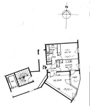 Verhuren  appartement Villeurbanne 658€ CC - Foto 4