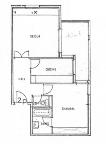 Venta  apartamento Charbonnieres les bains 199000€ - Fotografía 7