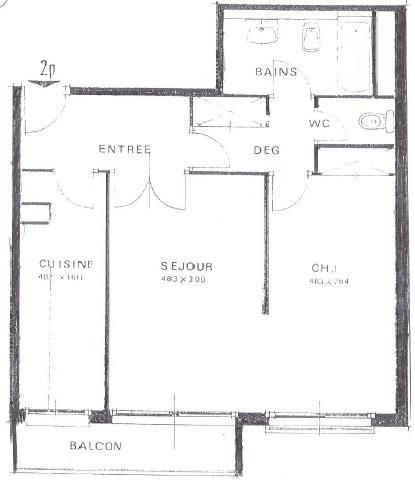 Venta  apartamento Paris 18ème 389000€ - Fotografía 6