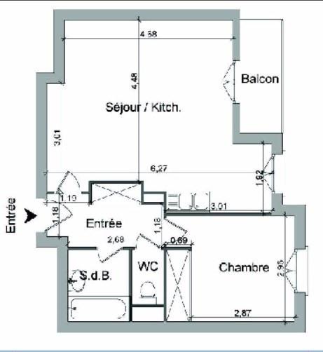 Location appartement Villefranche sur saone 546,25€ CC - Photo 2