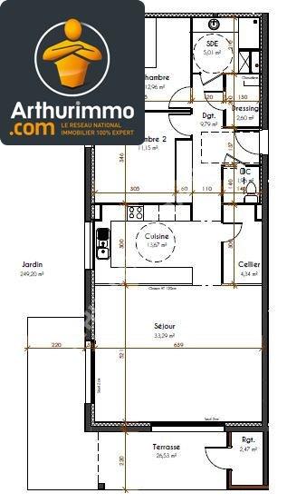 Sale apartment Pau 302000€ - Picture 2