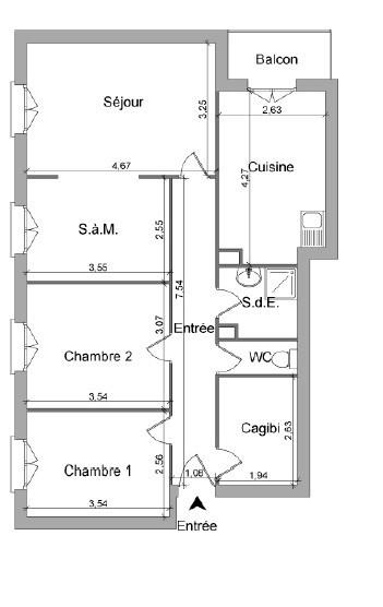 Location appartement Villefranche sur saone 754,75€ CC - Photo 9