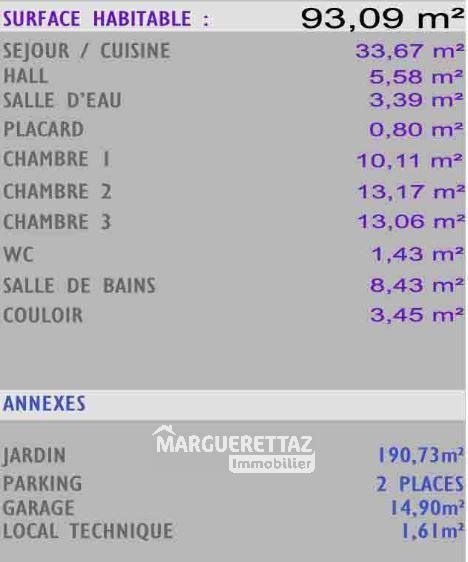 Sale house / villa Bonneville 283000€ - Picture 4
