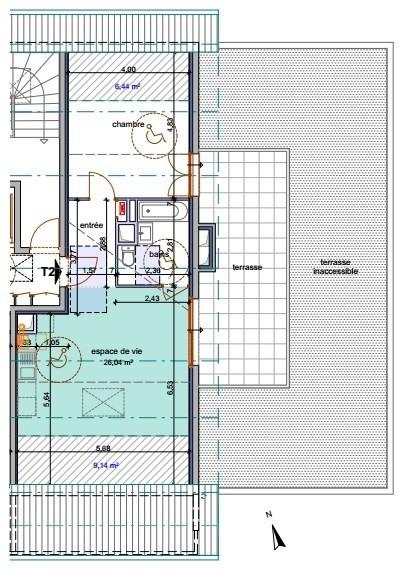 Vente appartement Annemasse 235500€ - Photo 3
