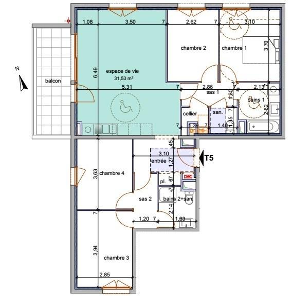 Vente appartement Annemasse 395300€ - Photo 3