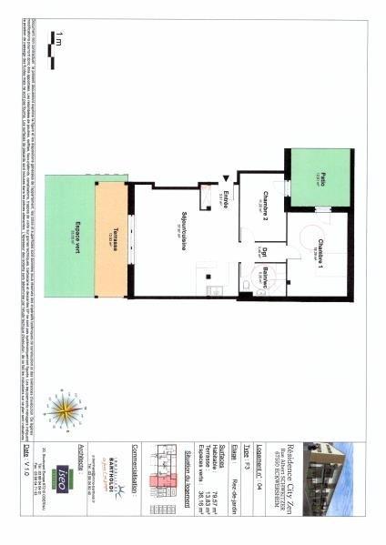 Vente appartement Eckwersheim 232000€ - Photo 3