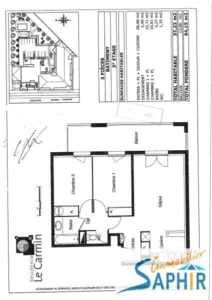 Vente appartement Toulouse 164 300€ - Photo 4