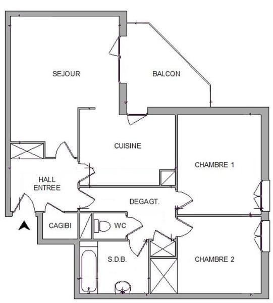 Location appartement Gleize 652,33€ CC - Photo 9