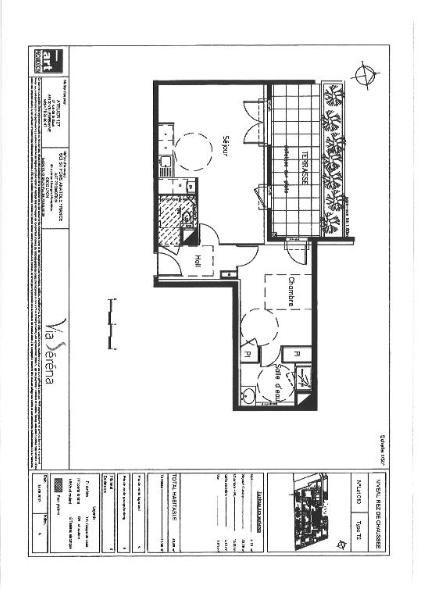 Rental apartment Saint fons 560€ CC - Picture 4