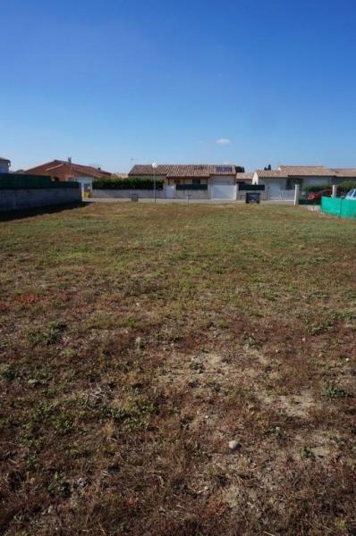 Terrain 850 m² constructible