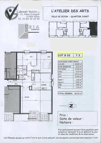 Location appartement Dijon 770€ CC - Photo 6