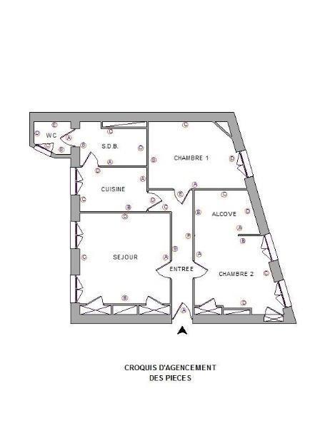 Location appartement Lyon 9ème 622,50€ CC - Photo 5