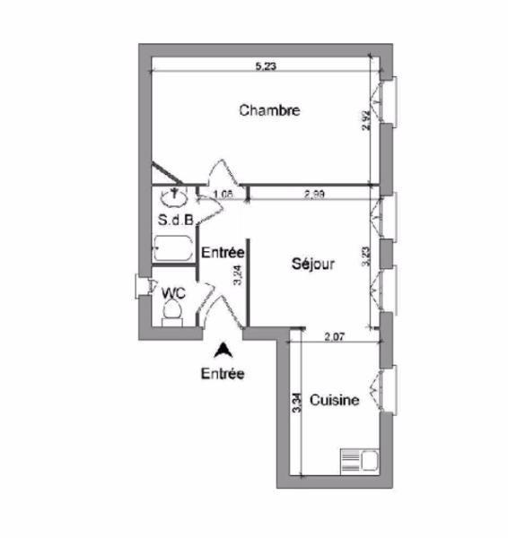 Location appartement Villefranche sur saone 395,75€ CC - Photo 4