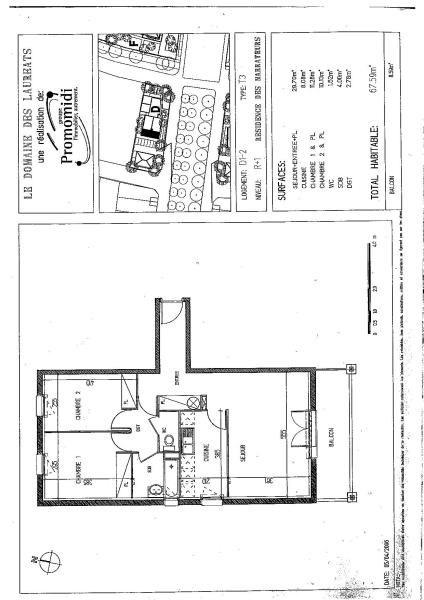 Rental apartment La salvetat st gilles 642€ CC - Picture 4