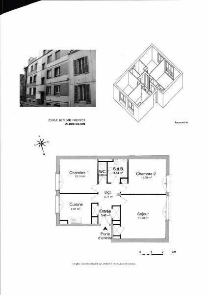 Location appartement Dijon 610€ CC - Photo 4