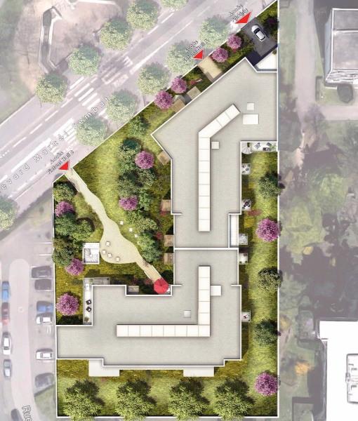 Appartement de type 2 de 39m² sur venissieux