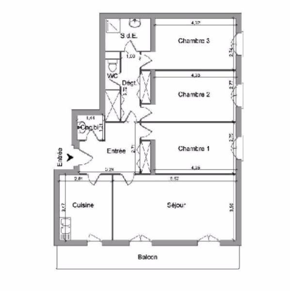 Location appartement Villefranche sur saone 838,41€ CC - Photo 7