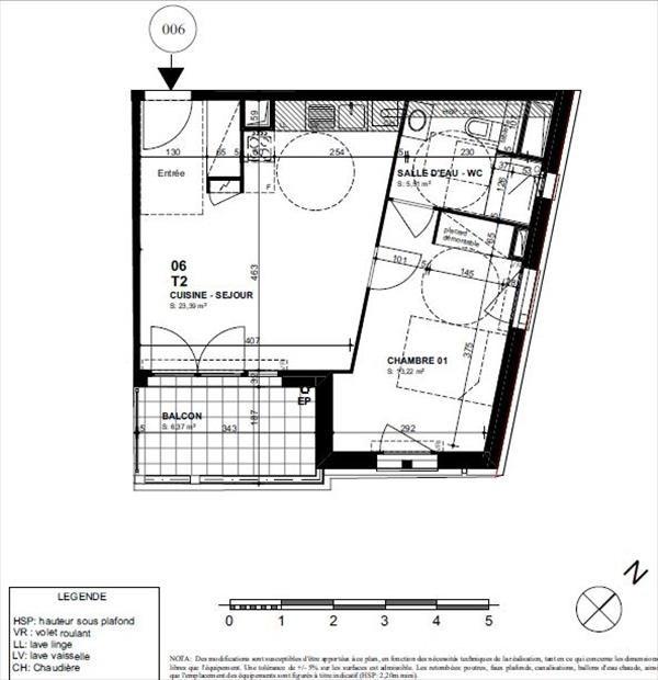 Sale apartment Biarritz 268000€ - Picture 2