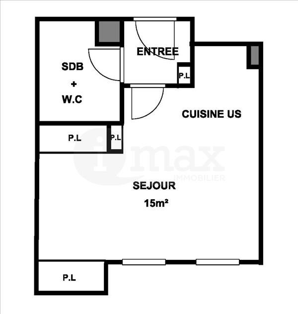 Vente appartement Levallois perret 210000€ - Photo 3