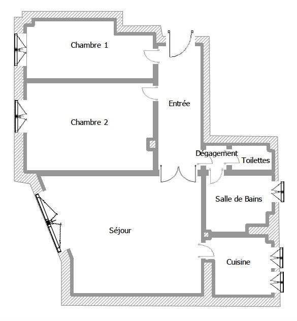 Vente appartement Neuilly sur seine 499200€ - Photo 1