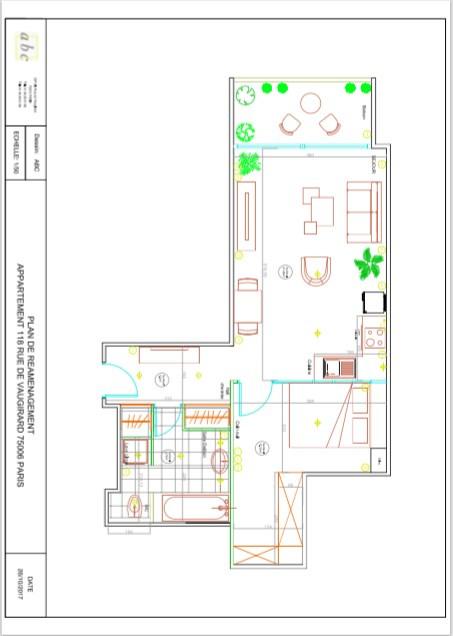 Vente appartement Paris 6ème 555000€ - Photo 2