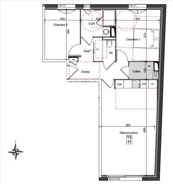 Sale apartment Auray 215000€ - Picture 2