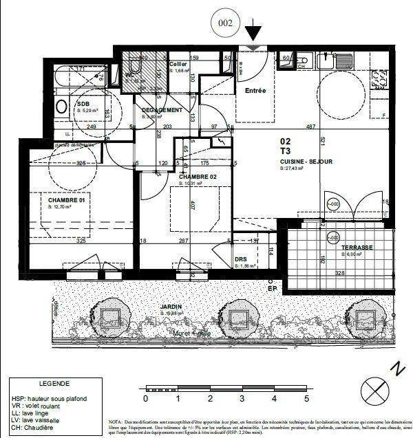 Vente appartement Biarritz 361000€ - Photo 2