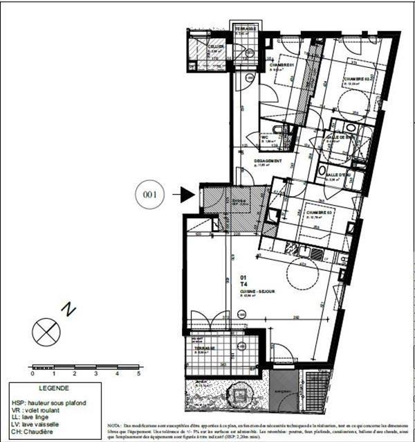 Vente appartement Biarritz 518000€ - Photo 2