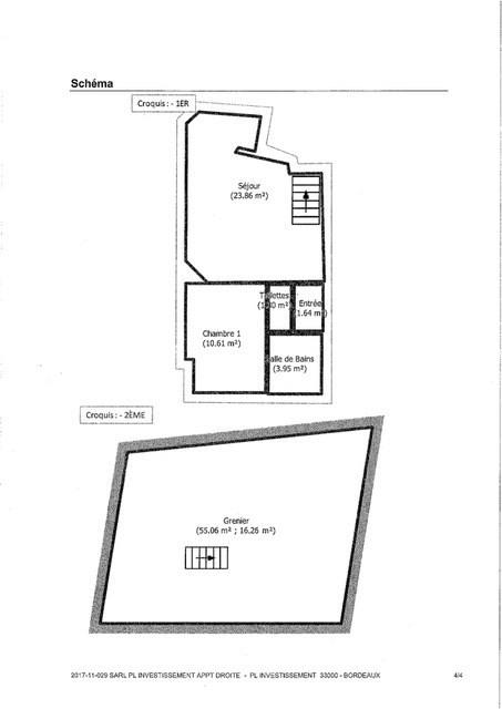 Vente appartement Bordeaux 294000€ - Photo 5