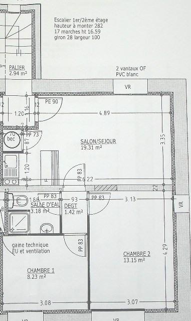 Revenda apartamento Gouville sur mer 95800€ - Fotografia 5